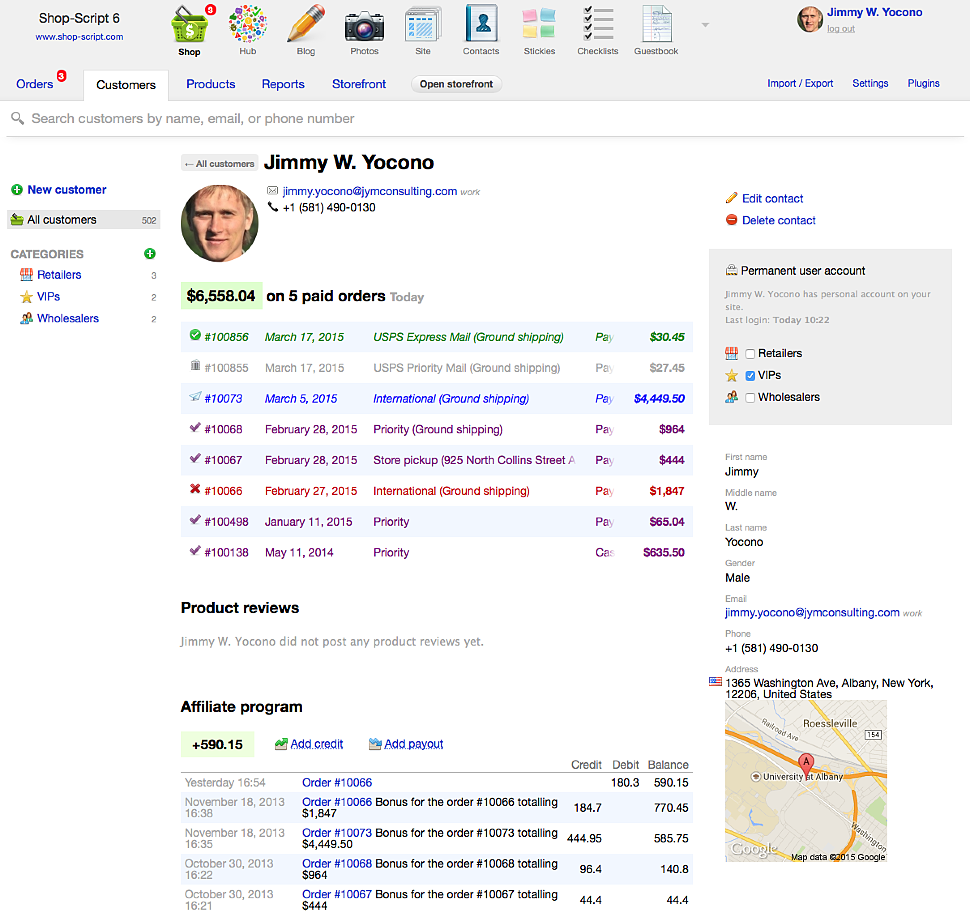 PHP Ecommerce Framework & Shopping Cart — Shop-Script