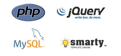 Customize your online store: PHP, MySQL, jQuery, Smarty