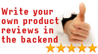 Add and edit product reviews in the backend