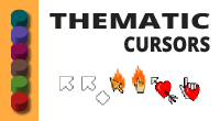 Thematic cursors